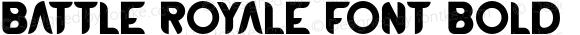 BATTLEROYALEFONT-Bold