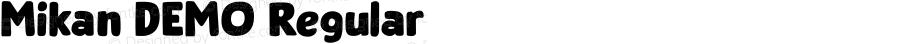 Mikan DEMO Regular