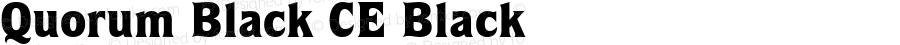Quorum Black CE Black Version 1.50