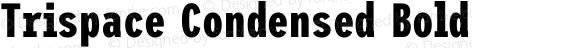 Trispace Condensed Bold