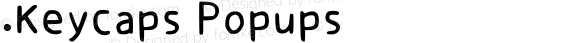 .Keycaps Popups