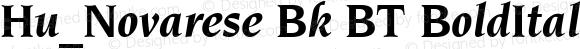 Hu_Novarese Bk BT BoldItalic 1997.05.28