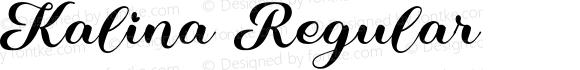 Kalina Regular