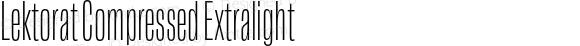 Lektorat Compressed Extralight