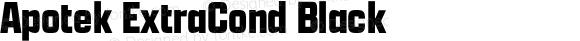 Apotek ExtraCond Black