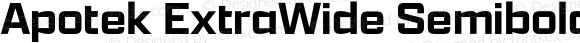 Apotek ExtraWide Semibold