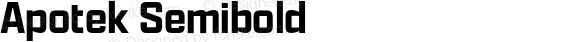 Apotek Semibold
