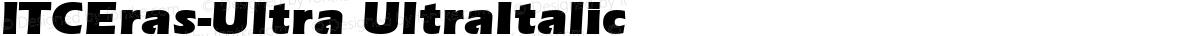 ITCEras-Ultra UltraItalic