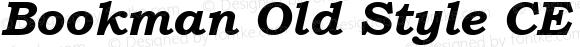 Bookman Old Style CE Bold Italic