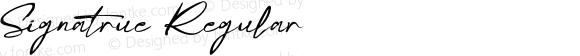 Signatrue Regular