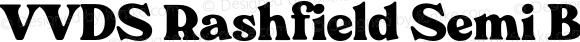 VVDS Rashfield Semi Bold
