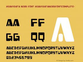 HeavyData Nerd Font