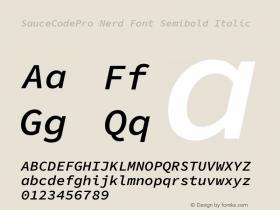 SauceCodePro Nerd Font