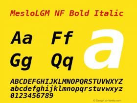 MesloLGM NF