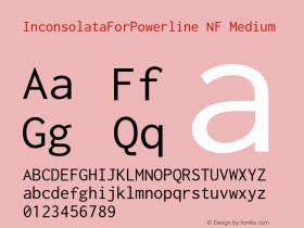 InconsolataForPowerline NF