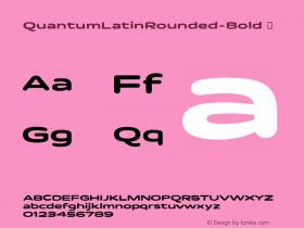 QuantumLatinRounded-Bold