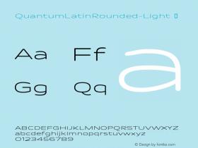 QuantumLatinRounded-Light