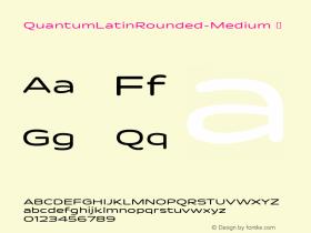 QuantumLatinRounded-Medium