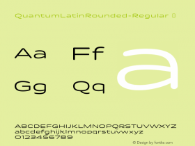 QuantumLatinRounded-Regular