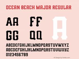 Ocean Beach Major