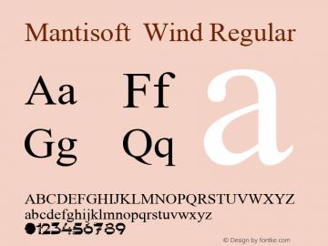Mantisoft Wind