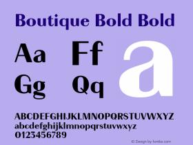 Boutique Bold
