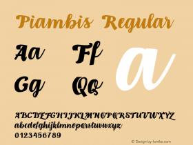 Piambis