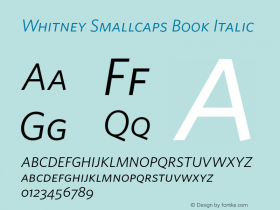 Whitney Smallcaps