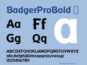 BadgerProBold