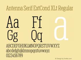 Antenna Serif ExtCond XLt