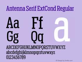Antenna Serif ExtCond