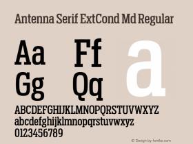 Antenna Serif ExtCond Md