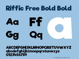 Riffic Free Bold