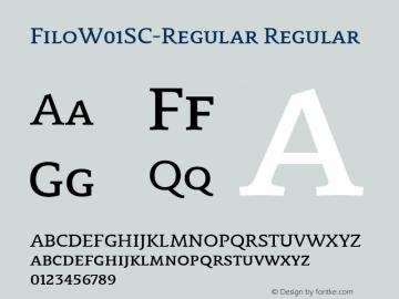 FiloSC-Regular