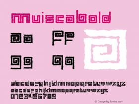 MuiscaBold
