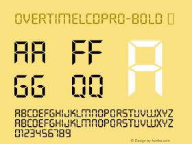 OvertimeLCDPro-Bold