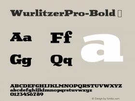 WurlitzerPro-Bold