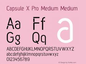 Capsule X Pro Medium