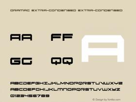 Oramac Extra-Condensed