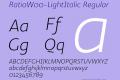 Ratio-LightItalic