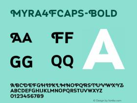 Myra4FCaps-Bold
