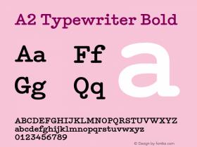 A2 Typewriter