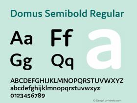 Domus Semibold