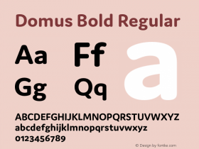 Domus Bold