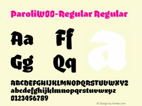 Paroli-Regular