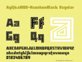Agitka-NeonboxBlack