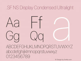 .SF NS Display Condensed
