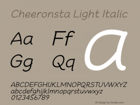 Cheeronsta Light