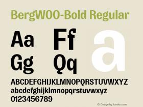Berg-Bold