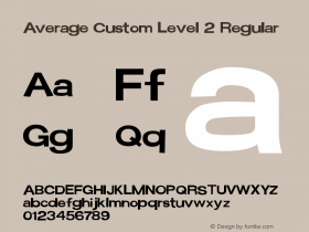 Average Custom Level 2